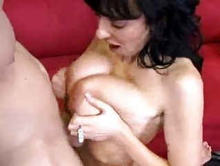 porn milf alia janine feeds her oral with a