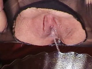 piss drinking bitch woman