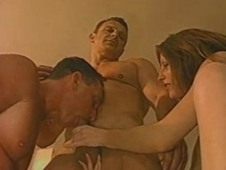 milf likes to observe her fucker with a man