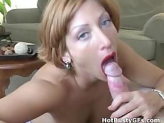 fresh bigtit woman sucking penis