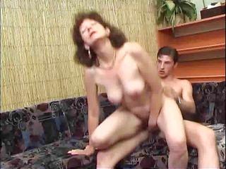 russian mature with a natural bushy prostitute