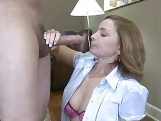 horny chick rebecca bardoux fits a huge boner