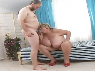 huge grandmother licking lucky old penis