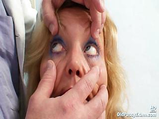 cougar girl stazka gyno speculum natural vagina