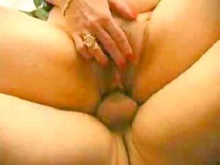 elderly takes a cum