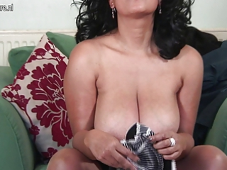 super american angel masturbating with herself