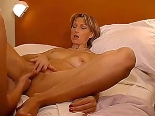 two french matures fingering