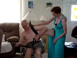 granny elderly stripts
