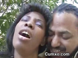 awesome ghetto afro whore pierced hardcore