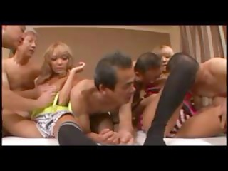 hina and rika into grandpa group sex