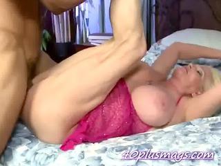 big tits mature girl uneasy pierced