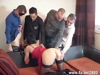 sophie gangbanged by few boys