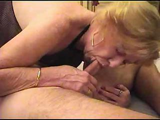 elderly in fishnet bodystocking