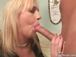 horny big breasted blonde lady whore gives part1