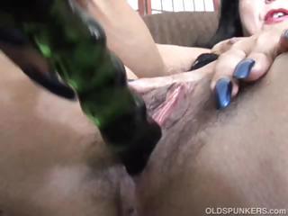 older amateur has a big orgasm