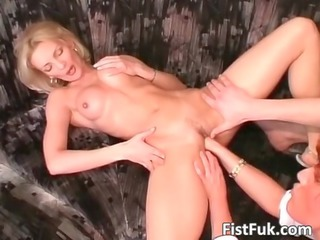 smoking extremely impressive woman blonde obtains