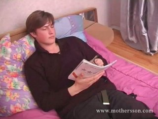 inexperienced guy with russian awesome mom and