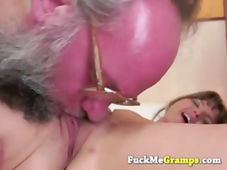 strong busty grandpa doing amateur whore