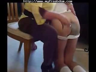spanked by milf