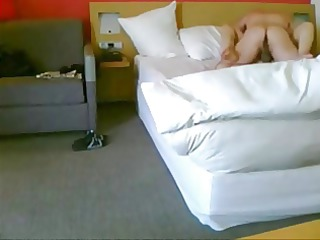 older couple secretly filmed in the novotel