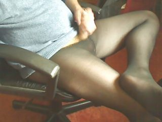 making a mess of wifes fresh tights
