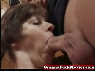 elderly tasting and pounding furry cave