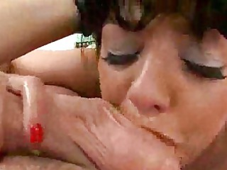grown-up dick licking with sweet cougars