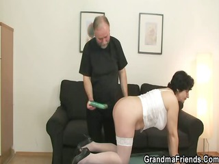she acquires two dicks from both sides