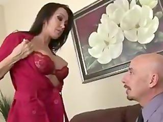 ram bones her at interview