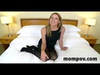 mature housewife acquires a more amateur penis