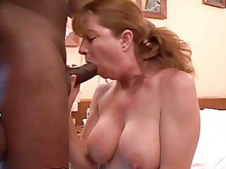 super redhaired mature babe getsh her shaved putz