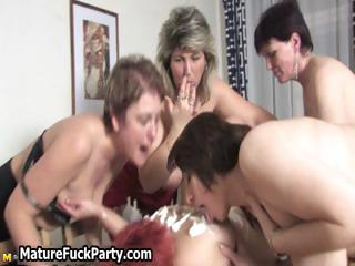 bunch of naughty dike mature moms adore part3