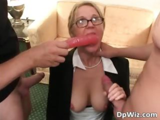 blonde heavy mature angel getting fingered part4