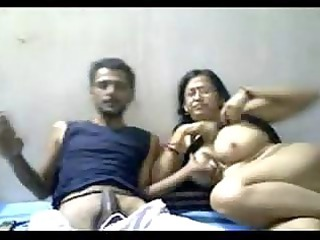 indian cougar duo mr and mrs gupta inside webcam