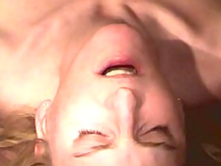 pale milf acquires throated
