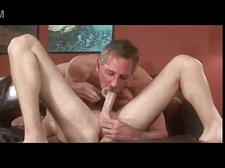 grey beard granny dad jay taylor kiss suck bang