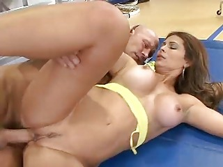 cougar latino not empty by a big cock