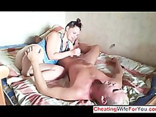 russian inexperienced couple have fuck