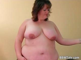 heavy amp have pleasure with her big dildo