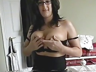 coed grown-up lady talks horny and gang-bangs for