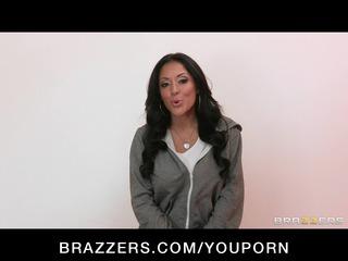 horny cheating latina cougar angel bangs her