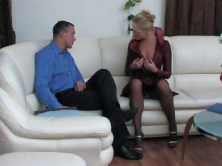 blonde russian lady acquires tasted and then