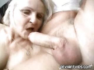 grandmas drill a amateur