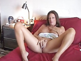 mature babe amateur takes sperm sprayed during