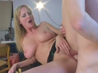 horny belle with furry cavity gang-banged