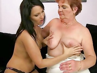 heavy elderly likes homosexual woman porn with