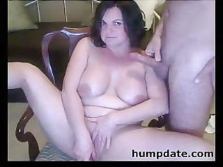 kitty playing and libido licking grown-up babe