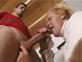 bleached elderly fucked