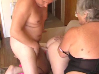 grandma libby and babe eyes share a young dick