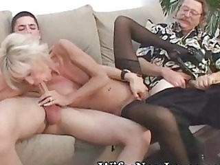 ancient cougar angel pleasured by fresh lover